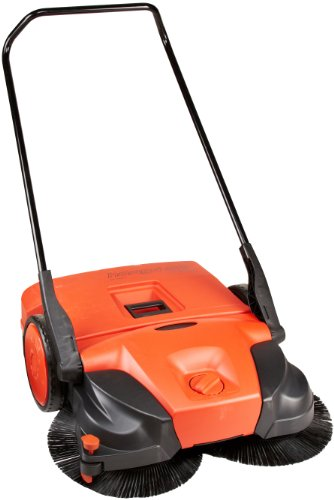 Buy Discount Haaga 477 Profi-line Deluxe Manual Triple Brush Sweeper, 31 Width