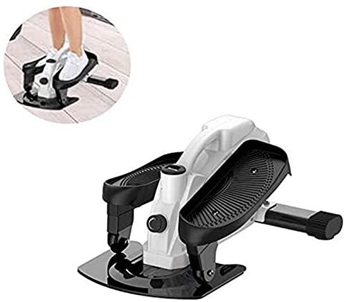 Escalera paso a paso, ejercitador de pedales, máquina de pedales de bicicleta elíptica para uso doméstico u oficina, máquina de ejercicios para entrenamiento de cuerpo completo, monitor de pantalla in