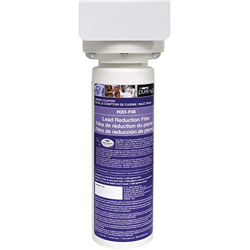 Watts Premier Pure H2O Full Flow, Under Sink Filtration System, 4,000 Gallon High Water Capacity, Reduces 99.2% Lead, White