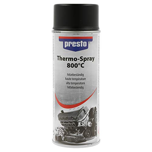 presto 428726 Thermo-Lackspray 800°C, 400 ml, Thermo Schwarz