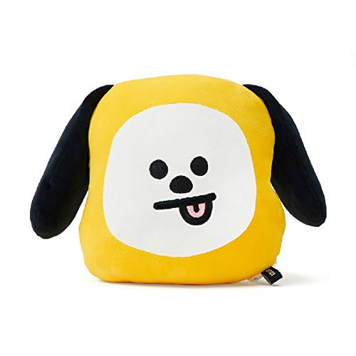 BT21 Official Merchandise by Line Friends - CHIMMY Character Figure Flat Decorative Body Cushion Pillow, Yellow