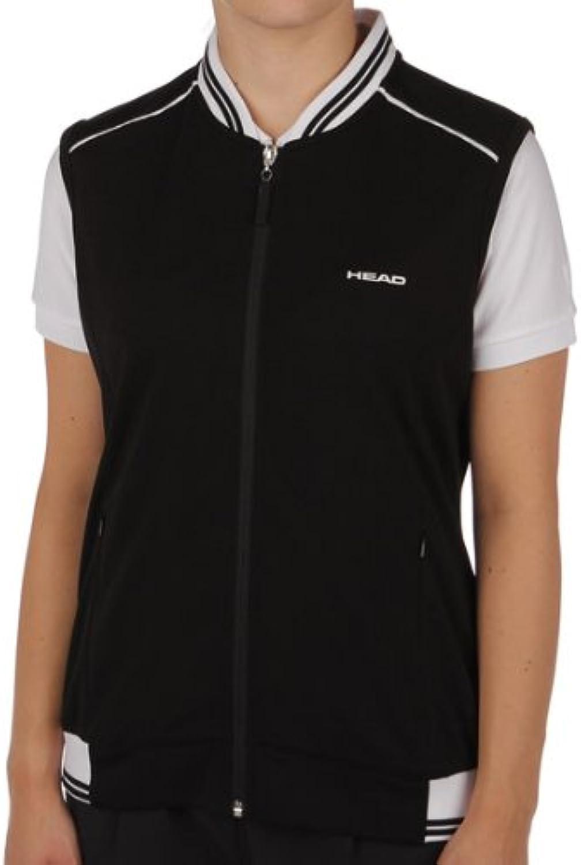 Head Damen Damen Damen Tennispullunder Weste Douglass Court Vest schwarz   weiß Gr. 46 B00BAS6UGY  Viele Sorten 76042d