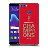Head Case Designs Officiel Liverpool Football Club Rouge Typographie Champions 2020 Coque en Gel...