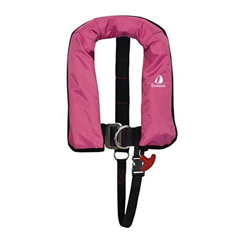 12skipper Kinder-Automatik Rettungsweste ISO 150N, Schwimmweste, pink