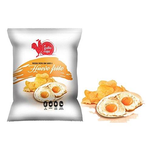Patatas fritas con sabor a huevo frito bolsa 120 g