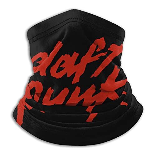 asdew987 Daft Punk Logo UV Protection Visage Écharpe Cache-cou Cache-cou Sans coutures Respirant Bandeau Bandana