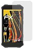 atFolix Panzerfolie kompatibel mit Archos Saphir 50X Schutzfolie, entspiegelnde & stoßdämpfende FX Folie (3X)