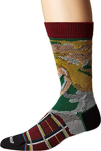 Stance Jenny Sharaf Burnt Rainbow Socks - Maroon-Medium
