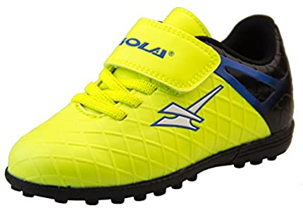 Zapatillas de fútbol infantiles, color Amarillo, talla 26 EU Niño