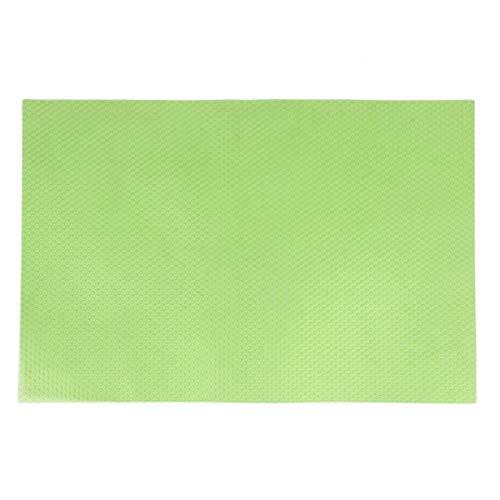 Greatangle Tappetini Anti-umidità Anti-Muffa Anti-batterici per Frigorifero 4 Pezzi con 3 Colori