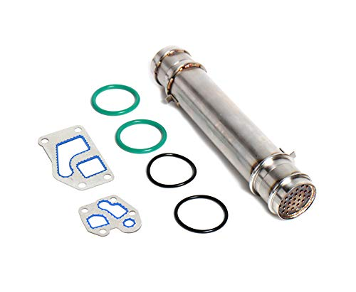 Replacement Engine Oil Cooler For 84-93 6.9L 7.3L IDI Ford Powerstroke Includes Gaskets