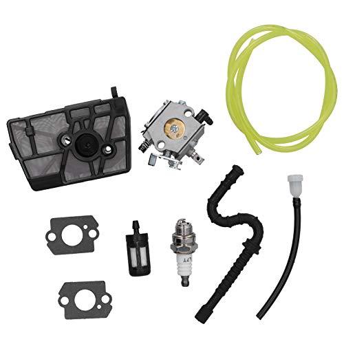 Yolispa Filtro Aria Carburatore Candela di Accensione Kit Motosega Accessorio per Stihl HU-40D 028 028AV