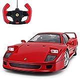 Radio Remote Control 1/14 Scale Ferrari F40 Licensed RC Model Car w/Front Light...