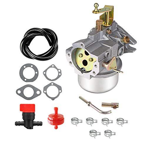Cnfaner Carburetor for Kohler K321 K341 Cast Iron 14hp 16hp Tractor Cast Iron Engine Carb with k341 Gasket kit