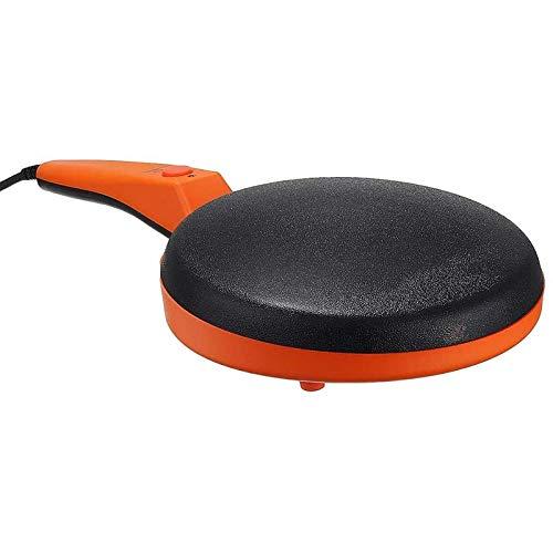 Sartén Revestimiento Antiadherente 220V 600W No-Palo Crepe Maker Pan Hogar Panqueque eléctrico Pastelera Máquina Freír Cuadrado Portátil Cocina Horneado (Color : Default)