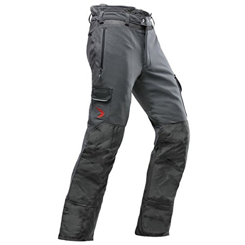 Pfanner leichte Schnittschutzhose zur Baumpflege Klasse 1, Größe:XL, Farbe:grau