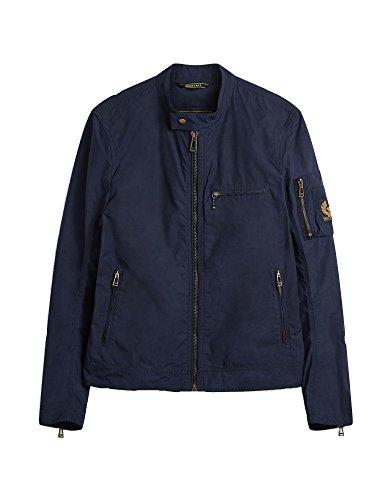 Belstaff BALSTAFF LandCross Jacket 80010 Dark Navy Cordura Jacke Marineblau, Blouson, Blau 46