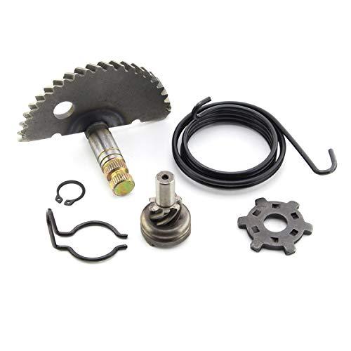 Piñón de arranque, arrastre, reparación de resorte, juego de revisión compatible con motores Peugeot de 12,5 mm (50 cc), Speedfight 1 + 2