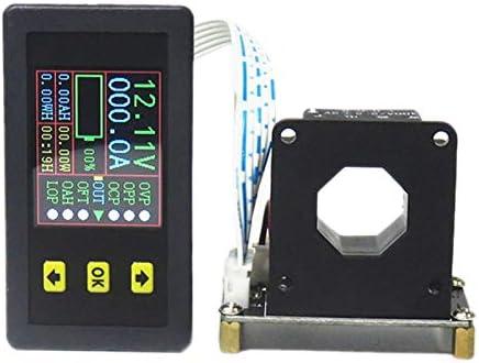 Bayda 90V 500A VoltíMetro Digital AmperíMetro Voltaje Corriente KWh Medidor de Vatios 12V 24V 48V 72V Capacidad de BateríA Monitoreo de EnergíA
