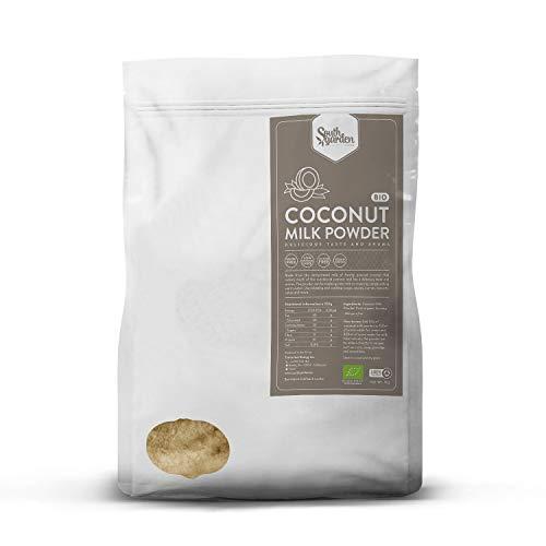 Lait de Coco Végétal en Poudre 500g | SOUTH GARDEN | BIO | Vegan | Sans gluten ni lactose | Sans sucres ajoutés