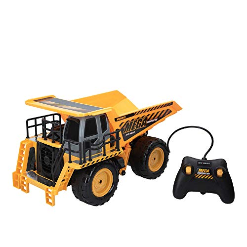 New Bright - Camión teledirigido niños 3 años Mega Dump Truck (46577)