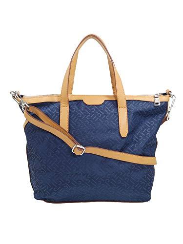 ESPRIT Damen Handtasche Tasche Henkeltasche Anne City Bag Blau 129EA1O030-400