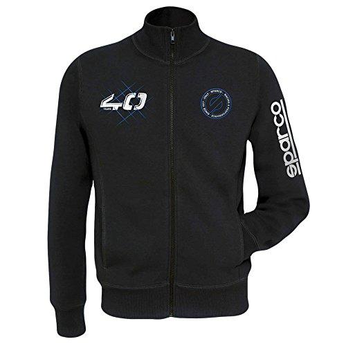 Sparco 01228NR4XL Modern Sweatshirt Tg. Schwarz Xl