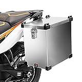 Maleta Lateral de Aluminio para Motos para Benelli TRK 502/ TRK 502 X Bagtecs Namib 40l Bolsa Lateral