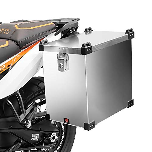 Maleta Lateral de Aluminio para Motos para Honda VFR 1200/750/ 800 F Bagtecs Namib 40l Bolsa Lateral
