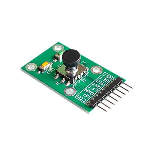パワーモジュール ファイブ方向ナビゲーションボタンジョイスティックモジュール用MCU AVRゲーム5Dロッカージョイスティック独立したキーボード