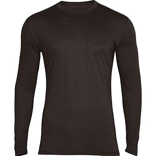 super natural Base 140 sous-vêtement Thermique Manches Longues Homme, Caviar, FR (Taille Fabricant : XXL)