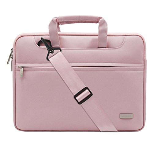 MOSISO Laptop Umhängetasche Kompatibel mit 15-15,6 Zoll MacBook Pro, Notebook Computer, Polyester Aktentasche Schultertasche Handtasche...