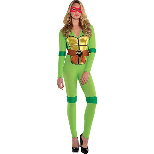 Amscan Teenage Mutant Ninja Turtles Sexy Halloween Costume for Women, Small, with Included Accessories