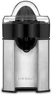 Cuisinart CCJ-500 Pulp Control Citrus Juicer, Brushed Stainless, Black/Stainless, 1 Piece Breville BJE200XL Compact Juice Fountain 700-Watt Juice Extractor Juicer Machines, Aicok Slow Masticating Juicer Extractor Easy to Clean, Quiet Motor & Reverse Function, BPA-Free, Cold Press Juicer with Brush, Juice Recipes for Vegetables and Fruits Omega J8006HDS Nutrition Center Quiet Dual-Stage Slow Speed Masticating Juicer Makes Fruit and Vegetable 80 Revolutions per Minute High Juice, 200-Watt, Silver