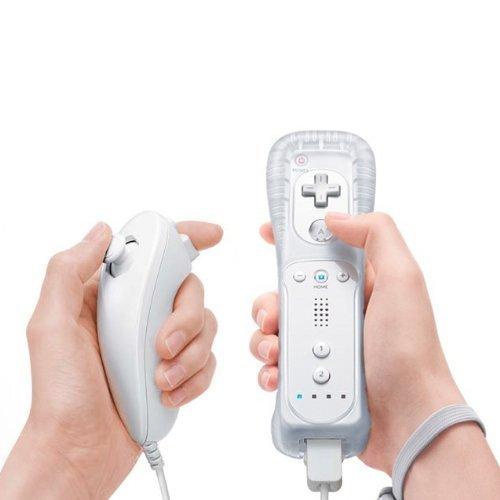 MeterMall CE TopOne Nunchuk y mando a distancia para Nintendo Wii