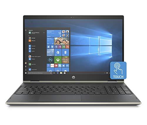 HP x360 High Performance Business 15.6in FHD IPS Touchscreen Laptop, Intel Core i5-8250U, 4GB RAM, 1TB Hard Drive, Intel UHD 620, WiFi, Bluetooth, Windows 10 Pale-Gold (Renewed)