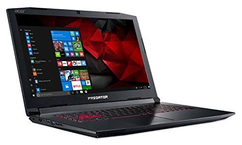 "Acer Predator Helios 300 Gaming Laptop, Intel Core i7, GeForce GTX 1060, 17.3"" Full HD, 16GB DDR4, 1TB HHD + 256GB SSD, Black, PH317-51-787B"