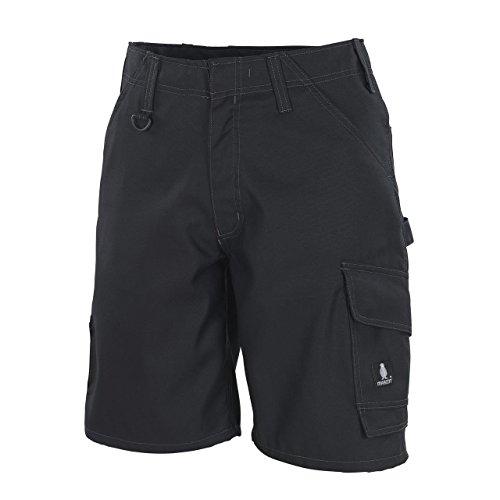 Mascot Charleston Shorts Herren | Pflegeleicht | Strapazierfähig | Dreifache Kappnähte | Verstärkte Gesäßtaschen | Hammerschlaufe | Schwarz Schwarzblau Anthrazit (51, Schwarz)