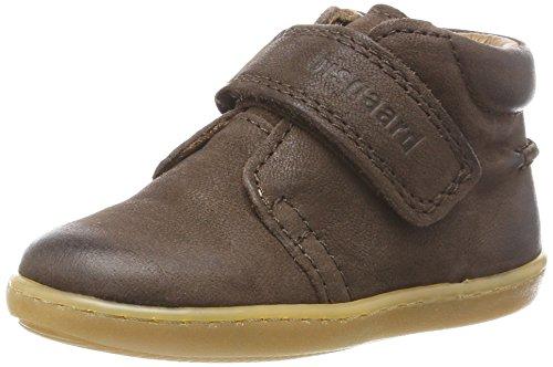 Bisgaard Unisex-Kinder Krabbelschuhe Pantoffeln, Braun (60 Brown), 21 EU