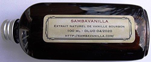 Extrait naturel de vanille bourbon de Madagascar x 100 ml