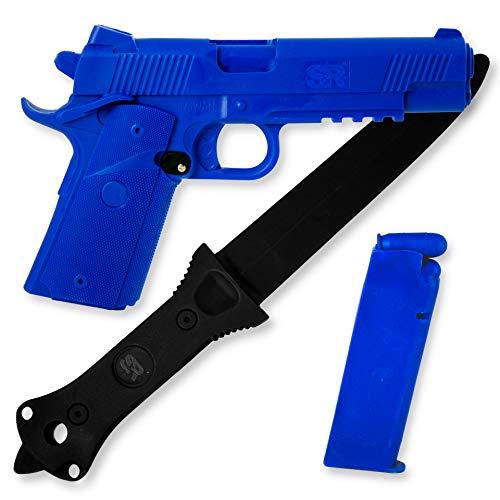 1911 blue gun - 1