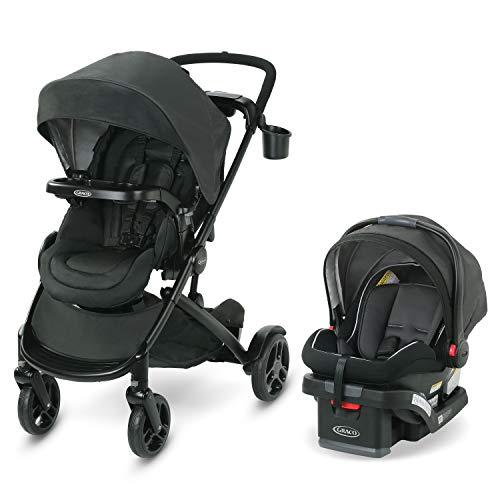 Graco Modes2Grow Travel System   Includes Modes2Grow Stroller and SnugRide SnugLock 35 Infant Car Seat, Tambi