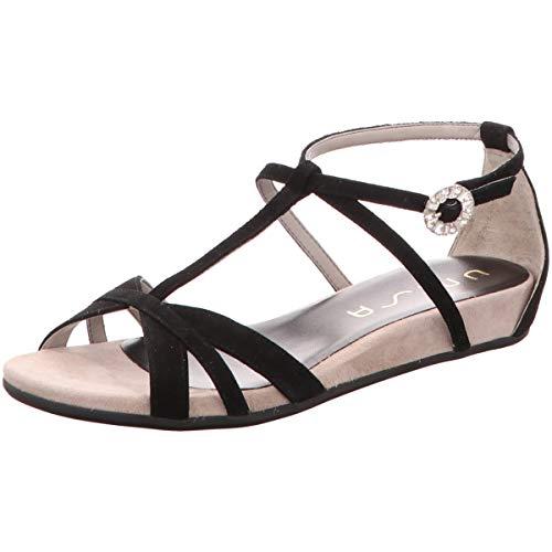 Unisa Damen Sandaletten schwarz 663467