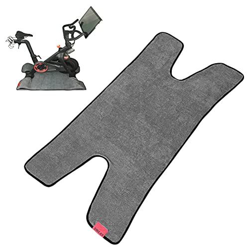 Asciugamano per esercizi – Lavabile in lavatrice – Accessori per bici da spinning – Accessori per bici da allenamento – Compatibile con Peloton Mat & Peloton Accessori