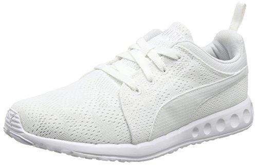 Puma Carson Runner Camo Mesh, Unisex Adults Trainers, White (White/White 08), 4...