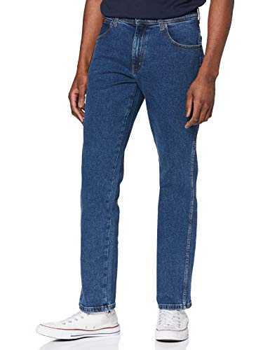 Wrangler Texas Contrast Jeans, Blast Blue, 31 W/32 L Uomo