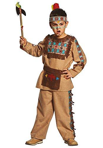 Rubie's 12135 Barry Gr. -104 152, Jungen Kostüm Apache braun Kinderfasching -128
