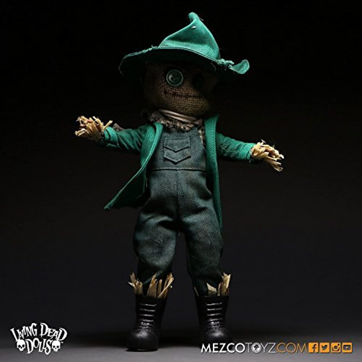 Living Dead Dolls Limited Edition Wizard of Oz   scarecrow variant color Living Dead Dolls in OZ