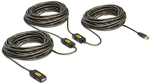 Delock - Cable de extensión USB 2.0 (30 m)