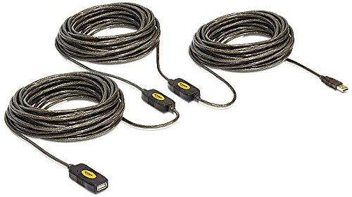 DELOCK Kabel USB 2.0 Verlängerung, aktiv 30m